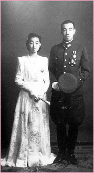 東久邇盛厚・成子夫妻