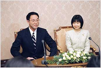 黒田慶樹・清子夫妻